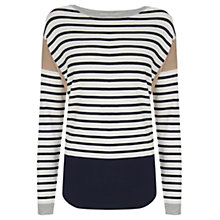 Buy Oasis The Brigitte Top, Multi Online at johnlewis.com