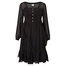Buy East Frill Detail Lace Dress, Slate Online at johnlewis.com