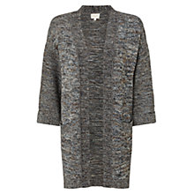Buy East Textured Knit Coatigan, Wedgewood Online at johnlewis.com