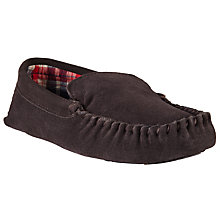 Buy John Lewis Alfie Check Slippers Online at johnlewis.com