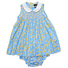 Buy Question Everything Luci Daisy Dress and Knickers Set, Blue Online at johnlewis.com