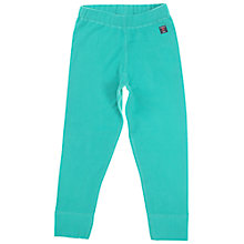 Buy Polarn O. Pyret Children's Fleece Trousers, Green Online at johnlewis.com