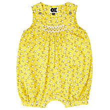 Buy Question Everything Bunny Sleeveless Playsuit, Yellow Online at johnlewis.com