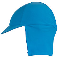 Buy Frugi Organic Baby Legionnaire Swim Hat, Blue Online at johnlewis.com