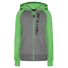 Buy Animal Boys' Humming Logo Zip Hoodie, Green/Grey Online at johnlewis.com