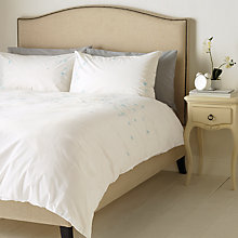 Buy John Lewis Classic Floral Bedding, White Online at johnlewis.com