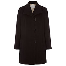 Buy Jacques Vert Stitch Detail Coat, Black Online at johnlewis.com