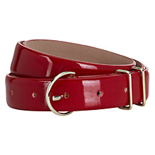 Buy Hobbs Kendal Belt, Crimson Online at johnlewis.com