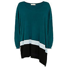 Buy Windsmoor Asymmetric Jumper, Turquoise Online at johnlewis.com