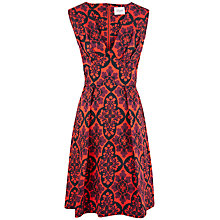 Buy Closet Floral V-Neck Dress, Multi Online at johnlewis.com