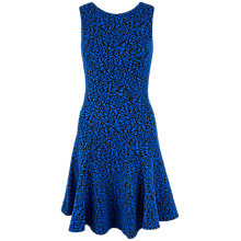 Buy Closet Rose Jacquard A-Line Dress, Blue Online at johnlewis.com