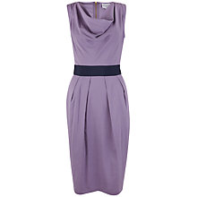 Buy Closet Cowl Neck Pencil Dress, Lilac Online at johnlewis.com