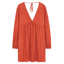 Buy Mango Smock Dress, Medium Orange Online at johnlewis.com
