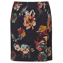 Buy Jigsaw Needle Punch Floral Wrap Skirt, Multi Online at johnlewis.com