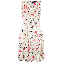 Buy Closet Butterfly Cowl Neck Dress, Multi Online at johnlewis.com