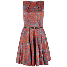 Buy Closet Rose Belted Skater Dress, Multi Online at johnlewis.com