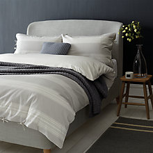 Buy John Lewis Dragonfly Embroidered Bedding, Dove Online at johnlewis.com