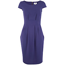 Buy Closet Cap Sleeve Tulip Dress, Navy Online at johnlewis.com
