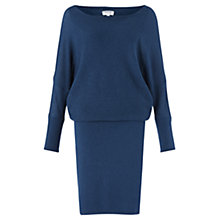 Buy Jigsaw Reverse Ottoman Batwing Dress Online at johnlewis.com