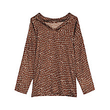 Buy Gerard Darel Balsamine Blouse, Camel Online at johnlewis.com