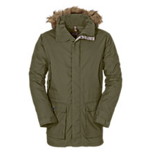 Buy Jack Wolfskin Millertown F65 Winter Men's Parka, Green Online at johnlewis.com