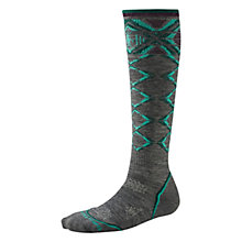 Buy SmartWool PhD Ski Light Women's Socks, Grey/Green Online at johnlewis.com
