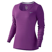 Buy Nike Dri-FIT Contour Long Sleeve Running Top Online at johnlewis.com