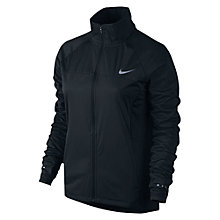 Buy Nike Shield 2.0 Running Jacket, Black Online at johnlewis.com