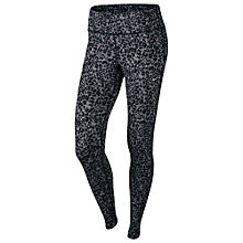 Buy Nike Lotus Epic Run Running Tights, Black Online at johnlewis.com