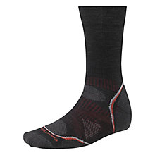 Buy SmartWool PhD Outdoor Light Crew Men's Socks, Black Online at johnlewis.com
