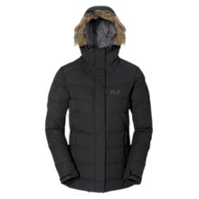 Buy Jack Wolfskin Terranceville Insulated Down Women's Jacket, Black Online at johnlewis.com