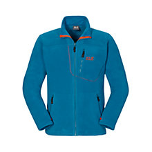 Buy Jack Wolfskin Vertigo Fleece Men's Jacket, Turquoise Online at johnlewis.com