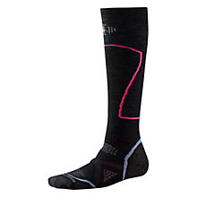 Buy SmartWool PhD Ski Medium Women's Socks, Black Online at johnlewis.com