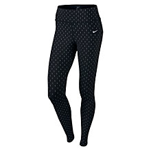 Buy Nike Epic Lux Flash Running Tights, Black Online at johnlewis.com