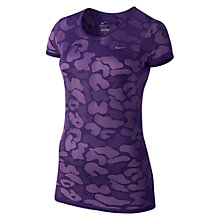 Buy Nike Dri-FIT Knit Contrast Running Top Online at johnlewis.com
