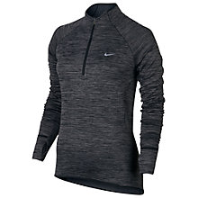 Buy Nike Element Sphere Half Zip Long Sleeve Top, Black/Heather Online at johnlewis.com