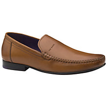 Buy Ted Baker Simeen Round Toe Moccasins Online at johnlewis.com