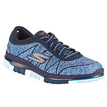 Buy Skechers Go Flex Ability Trainers, Navy Online at johnlewis.com