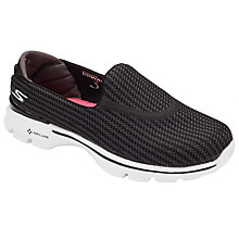 Buy Skechers Go Walk 3 Slip On Trainers Online at johnlewis.com