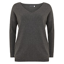 Buy Mint Velvet Metallic Knit, Grey Online at johnlewis.com