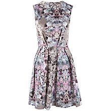 Buy Closet Almari V Back Floral Collar Dress, Multi Online at johnlewis.com