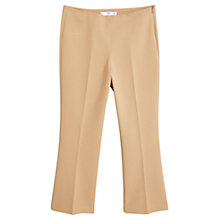 Buy Mango Straight-Cut Crop Trousers Online at johnlewis.com