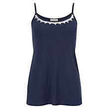 Buy East Embellished Sequin Camisole Top, Ink Online at johnlewis.com