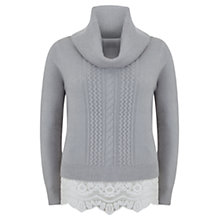 Buy Mint Velvet Cable Knit, Multi Online at johnlewis.com