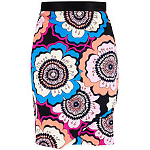 Buy Closet Retro Asymmetric Wrap Skirt, Multi Online at johnlewis.com