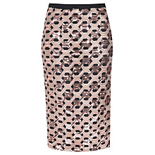 Buy True Decadence Sequin Skirt, Rose Gold Online at johnlewis.com