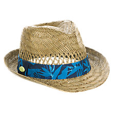 Buy Animal Kristoff Trilby Hat, Natural Online at johnlewis.com