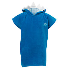 Buy Animal Boys' Ride Shark Towel Poncho, Blue Online at johnlewis.com