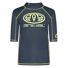 Buy Animal Boys' Hiltern Rash Vest Online at johnlewis.com