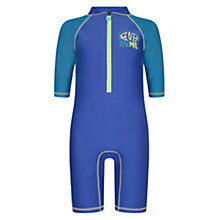 Buy Animal Boys' Bodacious Swimsuit, Blue Online at johnlewis.com